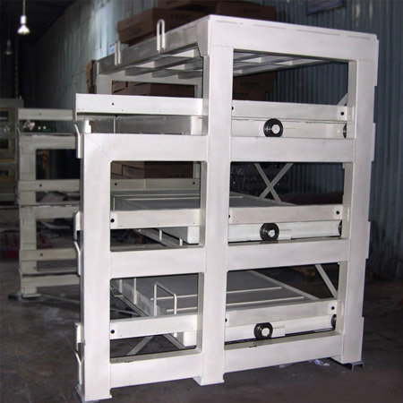 Shelf for molds (Load: 5 tons/drawer)